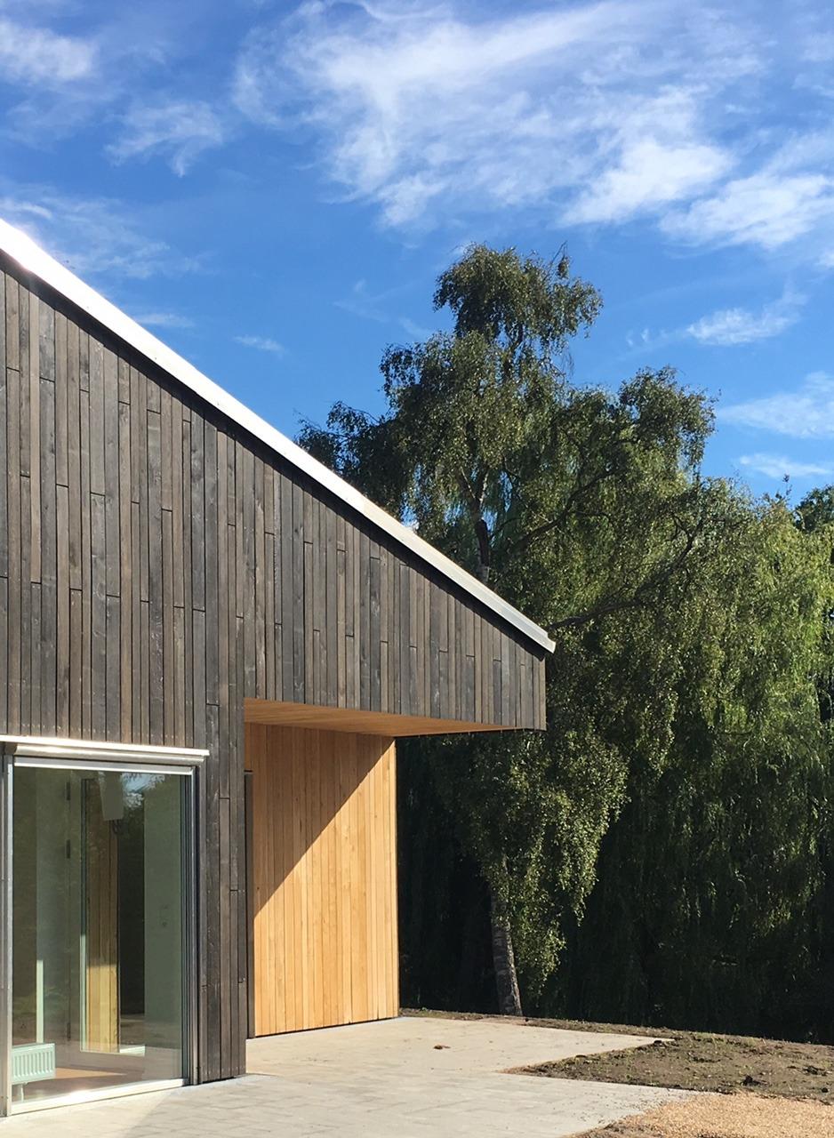 architect prefabricated housing general housing plus arkitekt ONV arkitekter præfabrikeret bolig almen bolig plus koncept præfab bolig Jyllinge Roskilde Tømmergården