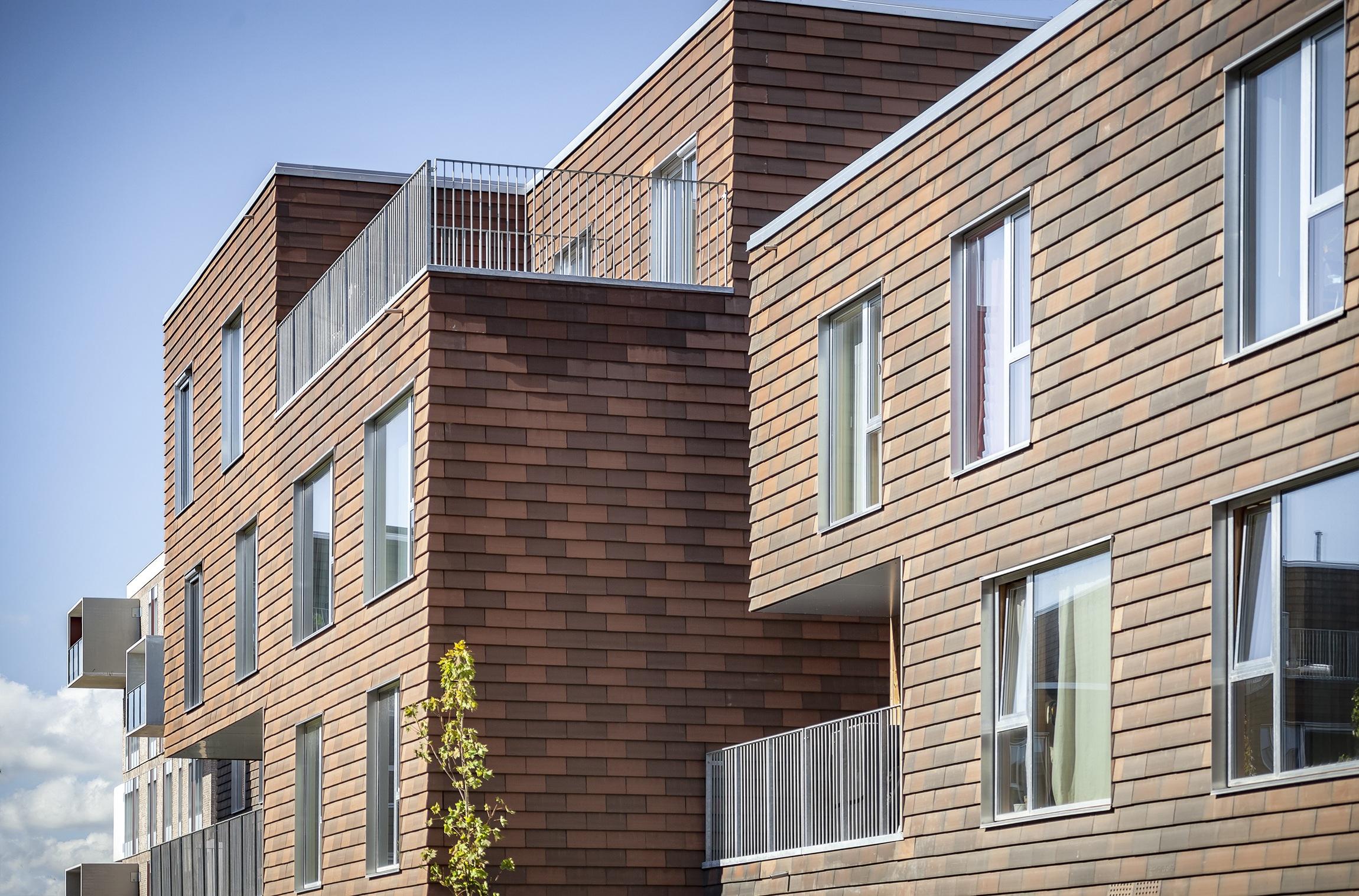 architect prefabricated housing general housing plus arkitekt ONV arkitekter præfabrikeret bolig almen bolig plus koncept præfab bolig arenakvarteret København