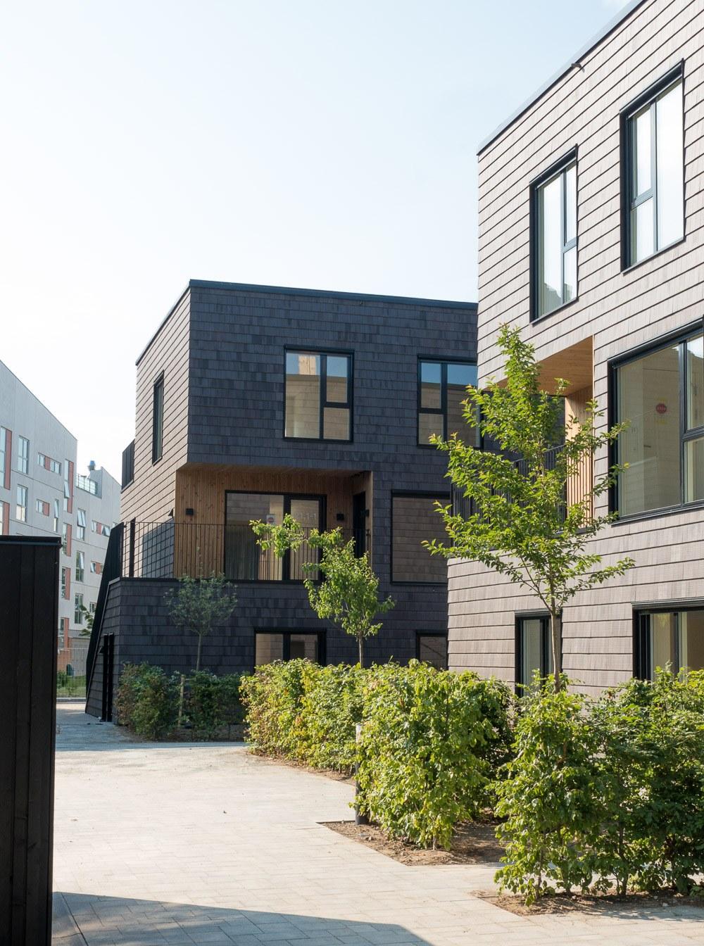 architect prefabricated housing general housing plus arkitekt ONV Ishøj arkitekter præfabrikeret bolig almen bolig plus koncept præfab bolig