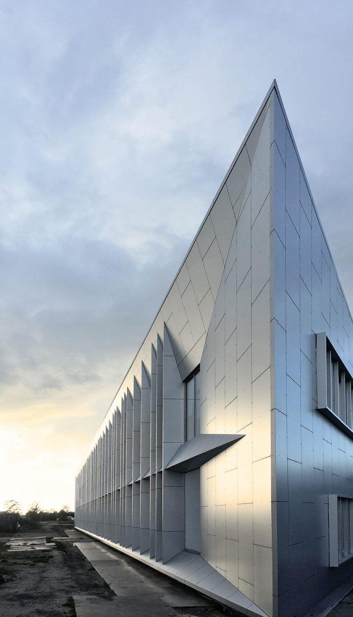 Odsherred rådhus ONV arkitekter præfabrikeret arkitekt