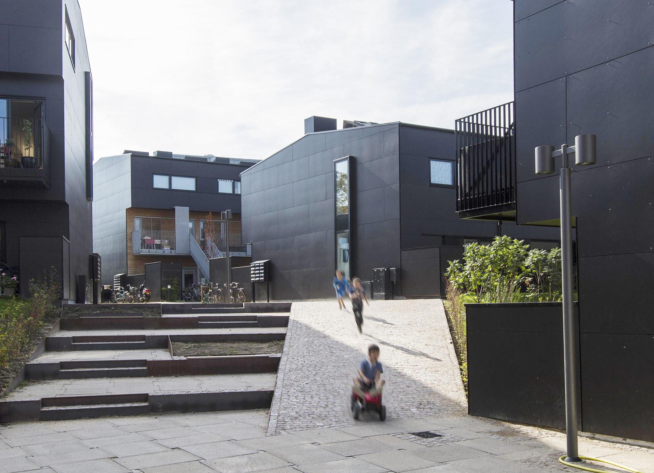 Emblasgade i København ONV arkitekter præfab boliger prefabricated housing