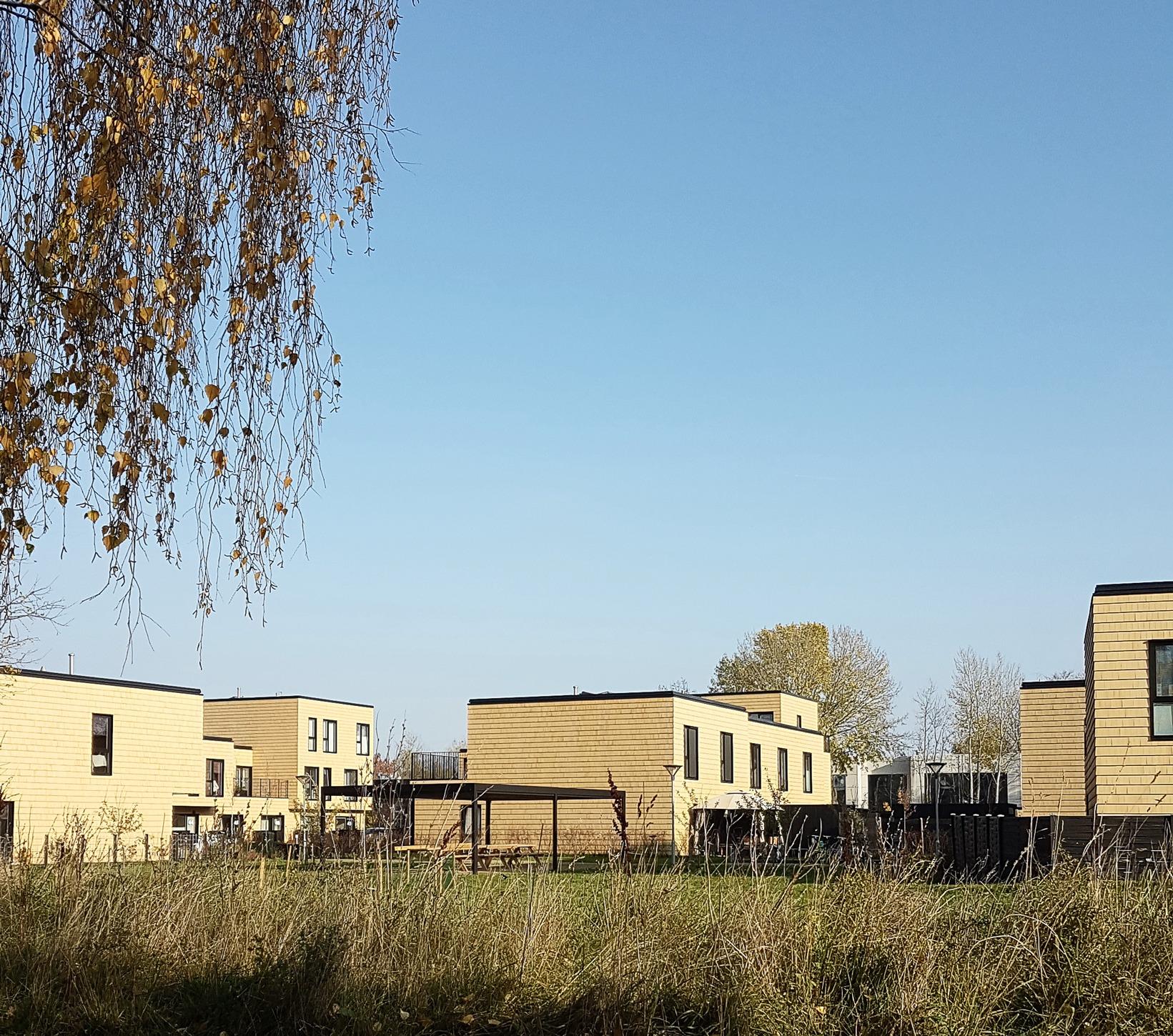architect prefabricated housing general housing plus arkitekt ONV arkitekter præfabrikeret bolig almen bolig plus koncept præfab bolig Teglmosen Albertslund Albertshave