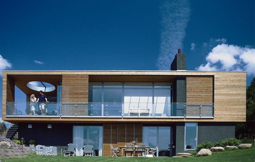 Villa Fairfax ONV arkitekter sommerhus arkitekttegnet prefab architecture