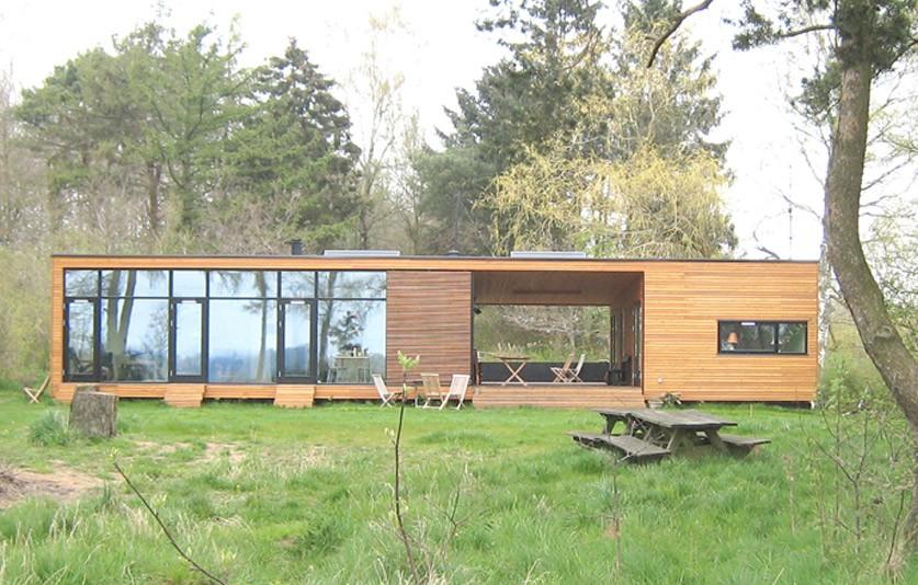 Villa Hilden ONV arkitekter Prefab præfabrikeret arkitekttegnet architecture 01