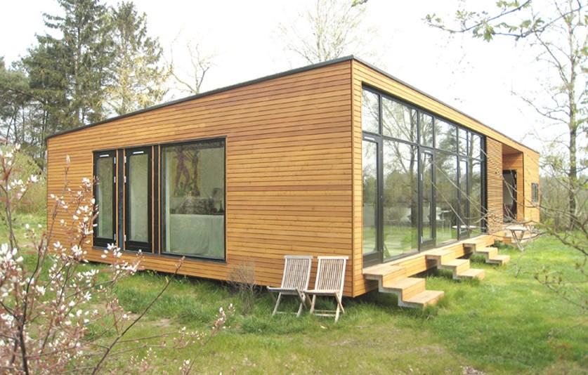 Villa Hilden ONV arkitekter Prefab præfabrikeret arkitekttegnet architecture 02