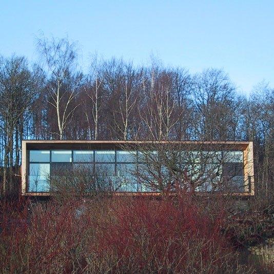 Villa Olsen ONV arkitekter enfamiliehus arkitekttegnet architecture 1