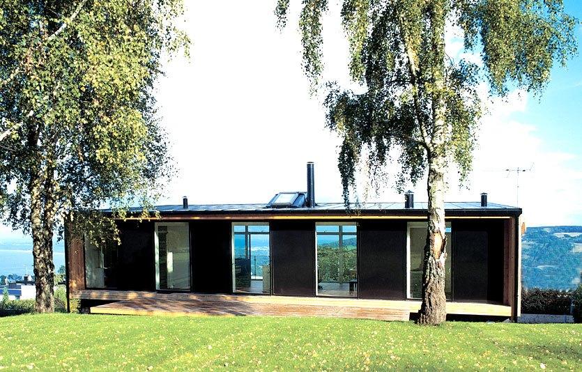 Villa Olsen ONV arkitekter enfamiliehus arkitekttegnet architecture 2