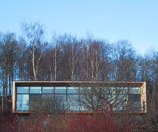 Villa Olsen ONV arkitekter enfamiliehus arkitekttegnet architecture forside