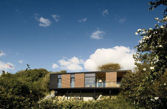 Villa Riiber ONV arkitekter Prefab sommerhus housing arkitekttegnet 4