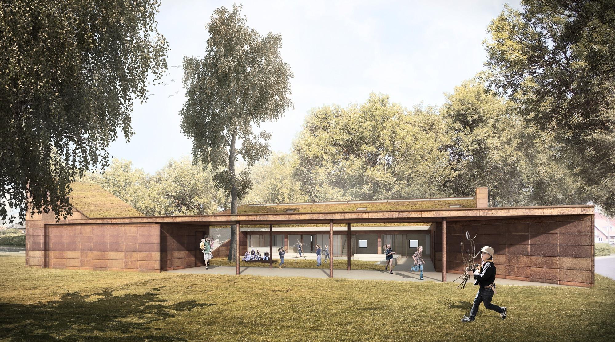 Spejderhus-i-Brønshøj-af-ONV-arkitekter-præfab-prefab-architecture-Bellahøj-21st-Barking