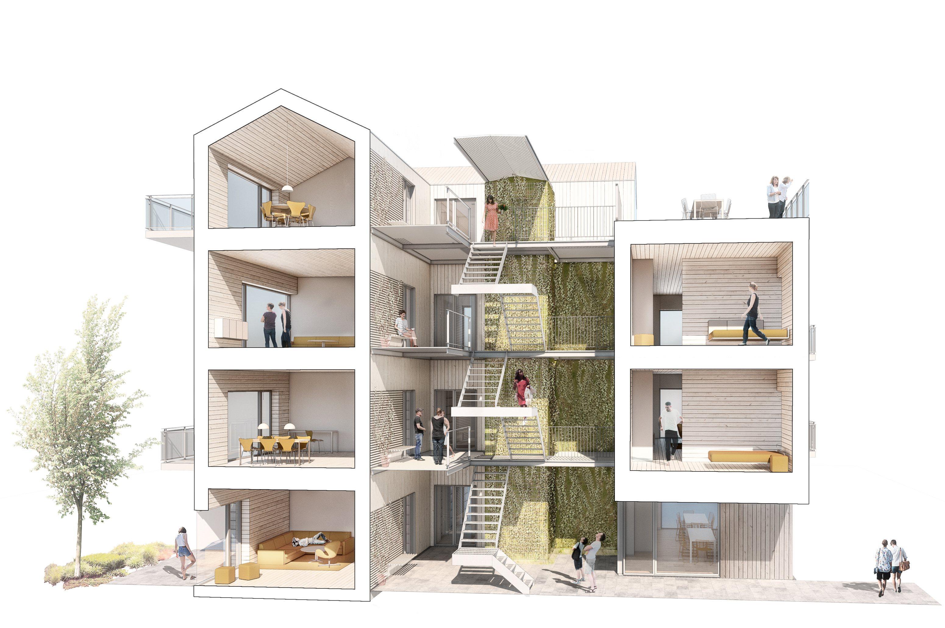 Boliglaboratorium-statens-kunstfond-realdania-onv-arkitekter-fællesskab-på-alle-niveauer