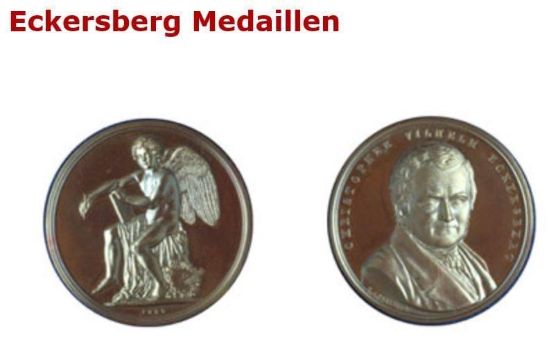 Eckersberg Medalje Medaille Søren Rasmussen ONV arkitekter