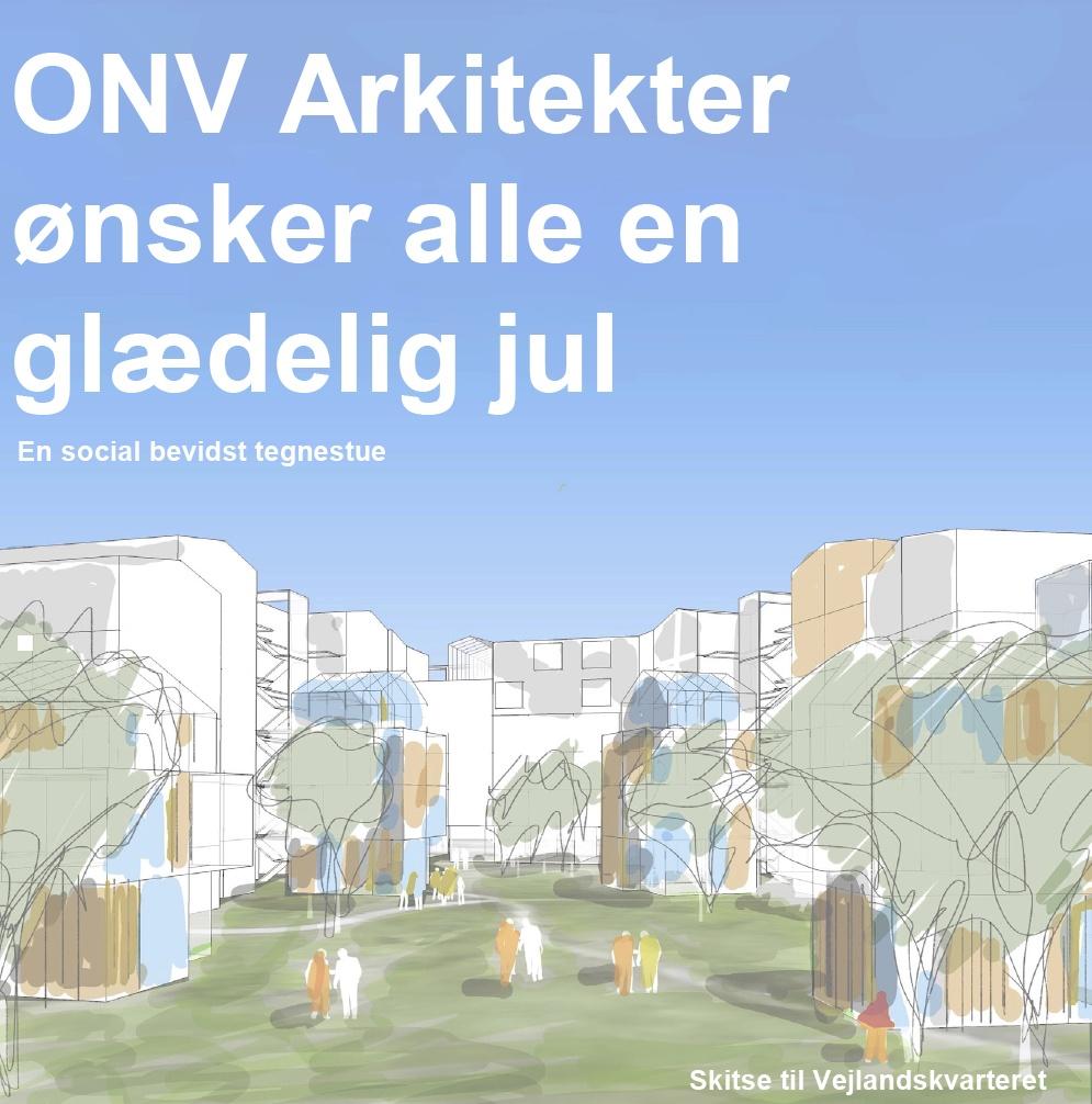 ONV arkitekter julekort 2020