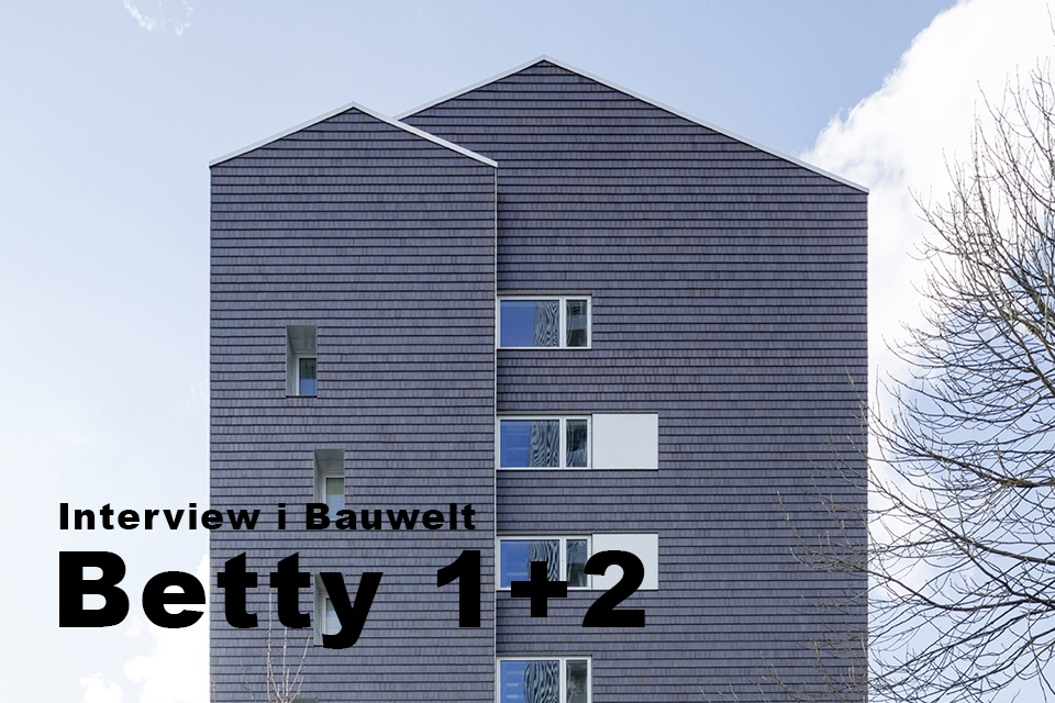 ONV arkitekter Betty 2 Frederiksberg Betty Nansens Alle forside